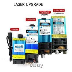 3040cm Cutter De Graveur À Laser Cnc Router Pour Acier Inoxydable 500-15w Nouveau