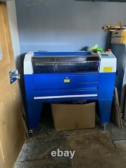 30w Air Cooled Rf Laser Gravure Machine Co2