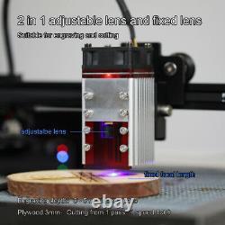 30w Cnc Laser Module Tête Pour La Gravure Laser / Coupe Machine Graveur Uk Stock