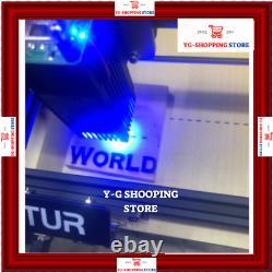32 Bit Laser Master 2 Laser 15with7w Gravure Machine Imprimante + Cadeau
