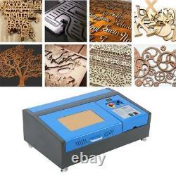 40w 220v Co2 Laser Graveur Machine Usb Port Gravure Découpe Sculpture Imprimante
