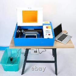 40w Co2 Laser Graviermaschine Gravierfräsmaschine Graveur Lasergravur
