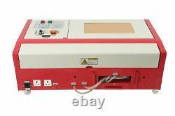40w Co2 Usb Exquise Gravure Au Laser Et Machine De Coupe + 4rads Exquis