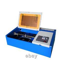 40w Co2 Usb Graveur Laser Graveur Coupeur Machine À Découper 300x200mm