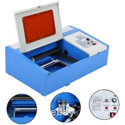 40w Co2 Usb Laser Graveur Cutter Gravure Machine De Coupe 300x200mm Royaume-uni