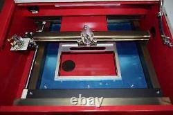 40w Co2 Usb Laser Gravure Et Machine De Coupe + 4rads