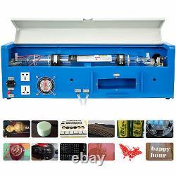 40w Co2 Usb Laser Gravure Machine Gravure Graveur Coupeur De Bois Artisanat De Travail