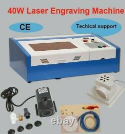 40w Laser Gravure Machine À Découper K40 Graveur Coupe Laser Pour Acrylique En Bois