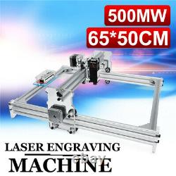500mw 6550cm Desktop Laser Engraver Gravure Machine Image