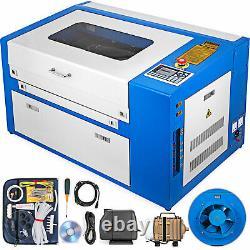 50w Co2 Gravure Laser Graveur Machine Graveur Air Assist Cutter 300x500mm Usb