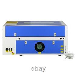 50w Co2 Laser Gravure Machine De Coupe 300mmx500mm Graveur Cutter 220v Usb