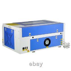 50w Co2 Laser Gravure Machine De Coupe 300mmx500mm Graveur Cutter 220v Usb Nouveau