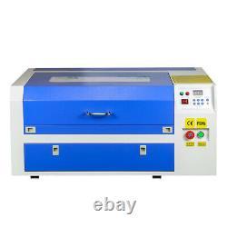 50w Co2 Laser Gravure Tailleur Machine Graveur Cutter Usb Port 20 X 12 220v
