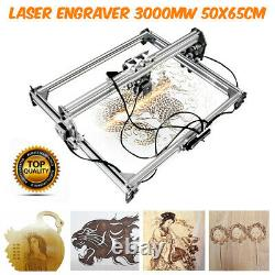 50x65cm 3000mw Area Mini Laser Gravure Machine Printer Kit Desktop