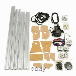 50x65cm Zone Mini Gravure Laser Cutting Graveur Machine Kit D'imprimante