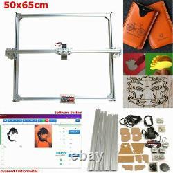 50x65cm Zone Mini Laser Gravure Machine Printer Kit Nouveau