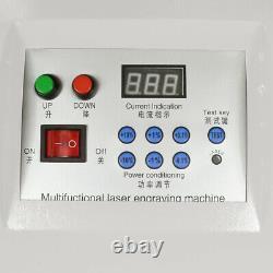 60w Co2 Graveur Laser Coupeur De Bois Coupeur Machine Usb 600mmx400mm