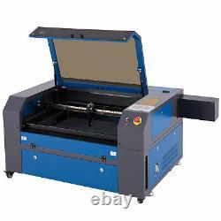 700500mm 80w Co2 Laser Graveur Machine À Découper Avec Axe Rotatif, Alimentation Électrique