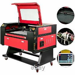 700x500mm Travail Taille 60w Co2 Laser Cutter Coupe Automatique Du Logiciel Graveuse Usb