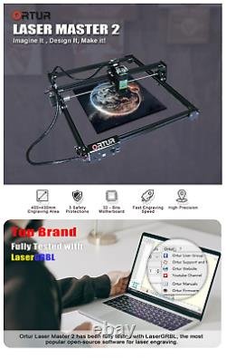 7w Ortur 32 Bits Laser Master 2 Laser Gravure Machine Imprimante