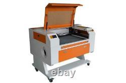 80w Co2 Machine De Gravure Laser De Découpe Laser 700x500mm Cutter Wooding Usb