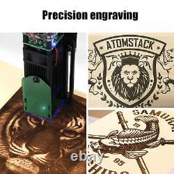 A5 20w Graveur Laser Diy Cnc Quick Assembly Gravure Machine À Découper 410400mm