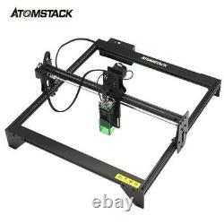 Atomstack A5 20w Diy Laser Cutting Printer Gravure Graveur Machine Desktop Us