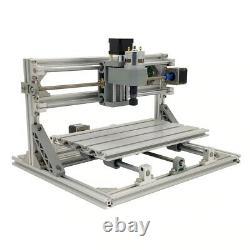 Cnc 3018 Routeur De Gravure & 7w Laser Module Carving Milling Diy Cutting Machine