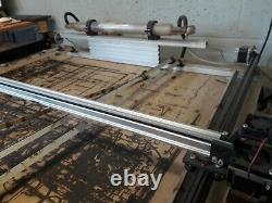 Cnc Laser Graveur Cutter 95x85cm Zone De Coupe 40w Inc Ventilateurs De Compresseur Pc