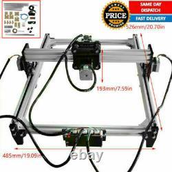 Cnc Laser Graveur Cutter Métal Marquage Machine De Coupe De Bois Soutien Vg-l3 Bricolage
