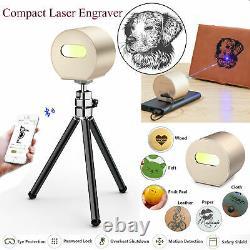 Découpe D'impression D'impression D'impression D'image De Logo De Bureau Portable De Machine De Laser De Bureau