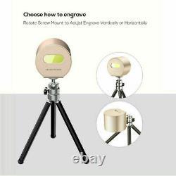 Découpe Portable De Gravure D'impression D'impression D'image De Logo De Laser De Bureau Portable De Machine De Diy