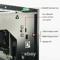 Dk-bl 3000mw Bluetooth Laser Engraver Cutting Engraving Carving Machine Printer