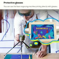 Graveur Portatif D'impression D'impression D'image De Logo De Bureau De Machine De Coupe De Laser