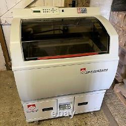 Gravographe Ls800 Cutter Laser / Machine De Gravure + Base De Filtre À Air