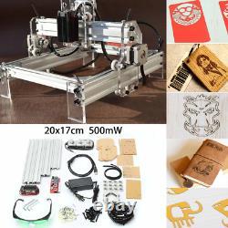 Gravure Laser Bricolage Machine Graveuse Imprimante Bureau Cutter 500mw