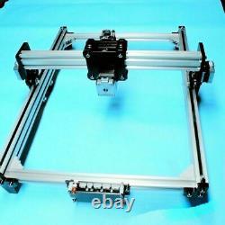 Imprimante De Gravure Laser Cnc 110-240v Metal Marking Wood Cutting Machine Diy Kit
