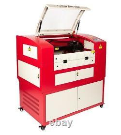 Laser Hpc / Graveur / Lazer Machine De Coupe 680x400 Co2 Uk Supply 60watt Lazer