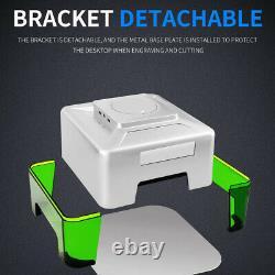 Machine De Découpe À Gravure Laser Cnc Sans Fil 3w Mini Automatic Bricolage App