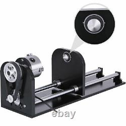 Machine De Découpe À Gravure Laser Rotary Axis 60w Co2 Laser Rotary Attachment
