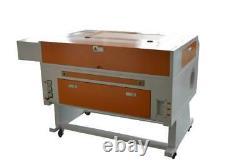 Machine De Découpe De Gravure Au Laser 700x500mm Co2 80w + Axe Rotatif + Cw3000