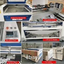 Machine De Découpe/gravure Au Laser Co2, 1300x900mm Acrylique/papier/graveur Laser En Bois