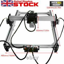 Machine De Gravure Laser De Bureau Bricolage Logo De Marquage Graveur D'imprimante Coupe 500mw