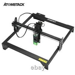 Machine Professionnelle Atomstack A5 20w Gravure Laser Cnc Gravure Bricolage