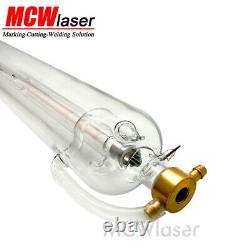 Mcwlaser 60w Co2 Laser Tube 1000mm 100cm Pour La Gravure De Coupe