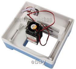 Mini 2000mw Machine De Gravure Laser Bricolage Usb Logo De Coupe Imprimante De Marquage D'image