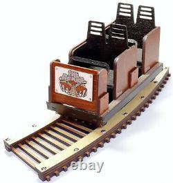 Modèle Détaillé De The Kings Island Beast Roller Coaster Laser Gravé & Coupé