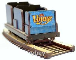 Modèle Détaillé Du Voyage Roller Coaster Train & Track Laser Gravé & Coupé