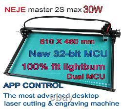 Neje Master 2s Max 30w Machine À Graver Au Laser Gravure Professionnelle