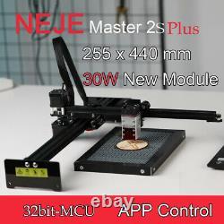 Neje Master 2s Plus 30w Cnc Graveur Laser Cutter Machine De Gravure Bricolage